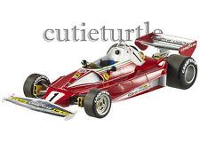 HotWheels Mattel Elite F1 1976 Ferrari 312 T2 #1 Niki Lauda Monaco GP 1:18 BLY40