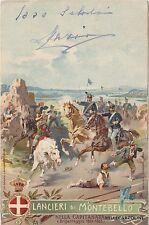 MILITARE - Lancieri di Montebello - Nella Capitanata - Brigantaggio 1861-1863