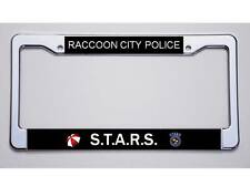 """RESIDENT EVIL FANS! """"RACCOON CITY POLICE /S.T.A.R.S.""""  LICENSE PLATE FRAME"""