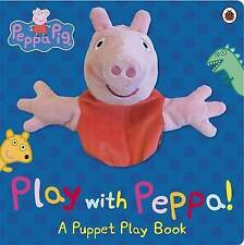 Peppa Pig: Play with Peppa Hand Puppet Book, , Very Good condition, Book