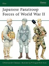Osprey Elite 127: Japanese Paratroop Forces of WW II Japan Fallschirmjäger / NEU
