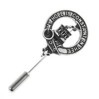 Clan Crest Lapel Pin - Great Range of Over 100 Scottish Clans - Names L to MacK