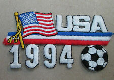 USA COLLECTABLE RARE VINTAGE PATCH EMBROIDED 1994 OLYMPIC SOCCER  WORLD CUP