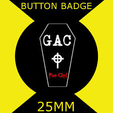 Ghost Adventures - Fan Girl  - Cult TV - 25mm BUTTON BADGE