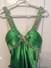 Maggie Sottero Gown, Green (Limeade), Size 8