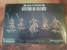 WARHAMMER 40K ASTRA TELEPATHICA SISTERS OF SILENCE - NEW & SEALED