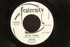 MOUSE AND THE TRAPS Cryin' Inside FRATERNITY DJ M-  listen!! GARAGE