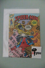 6.0 FN FINE  AMAZING SPIDER-MAN  # 123  SPANISH EURO VARIANT OW/CP YOP 1982