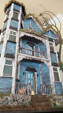 Abandoned Spooky Wooden Miniature Dollhouse