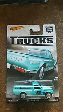 Hotwheels car culture trucks Datsun  620 real riders nice!