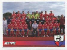 N°522 EQUIPE TEAM # BELGIQUE RE.BERTRIX STICKER PANINI FOOTBALL 2011