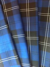 *NEW* RAMSAY NEW BLUE TARTAN NAPKINS - SET OF 6