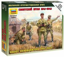 Zvezda 1/72 Figures Soviet Headquarters 1941-1943 Z6132