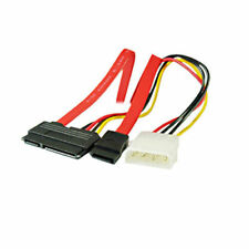 Sata Combo 15 Pin Power Y 7 Pin Cable De Datos 4 Pin Molex A Serial Ata De Plomo