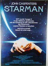 John Carpenter`s STARMAN -Jeff Bridges,Karen Allen - Filmplakat DIN A1 (gerollt)