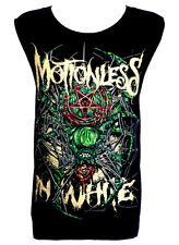 MOTIONLESS IN WHITE Spider Rock Band Unisex Tank Top Vest T-Shirt Size M