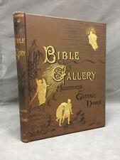 "Antique 1880 Gustav Dore ""Bible Gallery"" book, finely embossed & ... Lot 113"