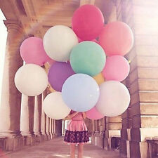 10pcs/lot 36inch Balloon Celebration Party Birthday Big Balloons Colorful Thick