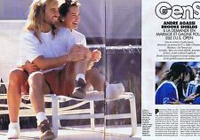 COUPURE DE PRESSE CLIPPING 1994 ANDRE AGASSI - BROOKE SHIELDS  (4 pages)