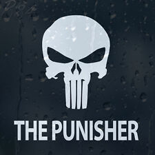 The Punisher Skull Head Car Laptop Decal Vinyl Sticker For Window Bumper Panel
