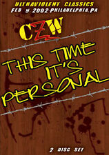 Combat Zone Wrestling: This Time Its Personal DVD CZW