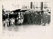 ALBANIE c. 1940 - Hautes Personnalités Manifestation Populaire Palais - P141