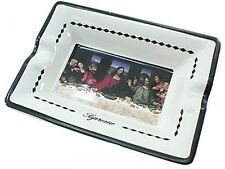 Supreme 'Last Supper Ceramic Ashtray Black With Tracking Free Shipping NEW