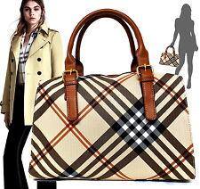 Borsa bauletto donna a mano spalla con tracolla bag FRANGE borsetta nuova grande