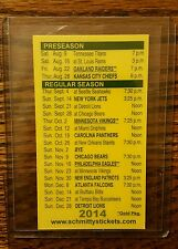 2014 Green Bay Packers/Wisconsin Badgers Schedule