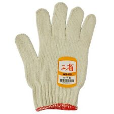 New Men Safety Work Gloves Riggers Cotton String Knitted Wrist Glove 1 Pair
