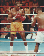 EVANDER HOLYFIELD 8 X 10 PHOTO WITH ULTRA PRO TOPLOADER