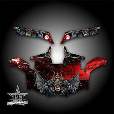 Polaris RZR 900 XP UTV Wrap Graphics Decal Kit 2011-2014 Guardian Red