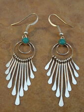 Paula Armstrong Sterling Silver & Turquoise Earrings
