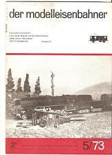 DDR Zeitschrift Modelleisenbahn Der Modelleisenbahner Heft 5 Mai 1973
