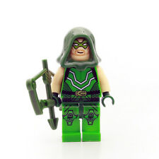Green Arrow Oliver Queen Super Heroes Assemble Blocks Minifigures Kids Toys Gift