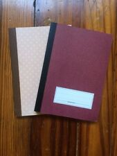 Green room Recycled Paper Notebooks Set Of 2