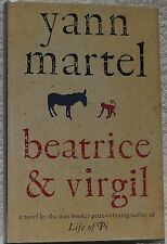 Martel, Yann.  Beatrice and Virgil.  Signed, First Canadian Edition.