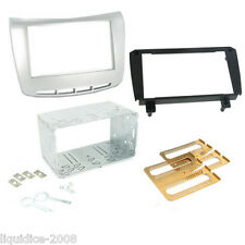 CT23LA02 LANCIA DELTA 2009 ONWARDS DOUBLE DIN FASCIA FACIA ADAPTOR PANEL KIT