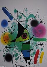 Joan Miro Singing Fish Chagall Picasso Dali Galerie artinform 1986