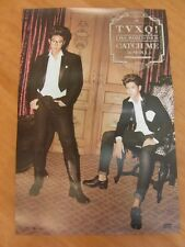 TVXQ - 4th World Tour (Catch Me) [OFFICIAL] POSTER *NEW* K-POP
