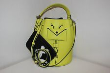 MARC BY MARC JACOBS Metropoli Leather Bucket Yellow Shoulder Bag Crossbody tote