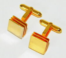 VINTAGE 1960'S MODERNIST CUFF LINKS BY CHRISTIAN DIOR