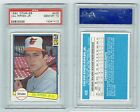 Cal Ripken Jr. 1982 Donruss #405 Rookie PSA Gem Mint 10 RC Orioles