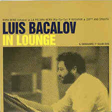 "Luis Bacalov ‎– In Lounge 7"" Giaguaro Records Italian Soundtrack Django"