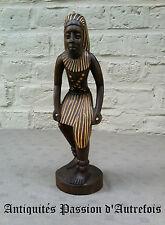 B20141119 - Statuette Africaine en bois de 26,5 cm - Très bon état