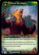 WOW WARCRAFT TCG WAR OF THE ANCIENTS : URSOC THE MIGHTY X 3
