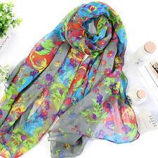 Fashion Womens Ladies Long Scarf Wrap Shawl Headscarf Large Silk Stole Scarves
