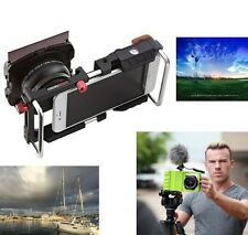 Cinema Mount Smartphone Rig Holder GND Filter Wide Angle Macro iPhone Universal