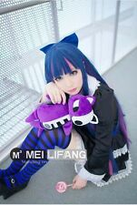 Panty & Stocking with Garterbelt Blue Pink Mix 100CM Long Cosplay Party Wig