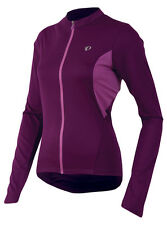 Pearl Izumi Women's Select Long Sleeve Bicycle Jersey Dark Purple - Large